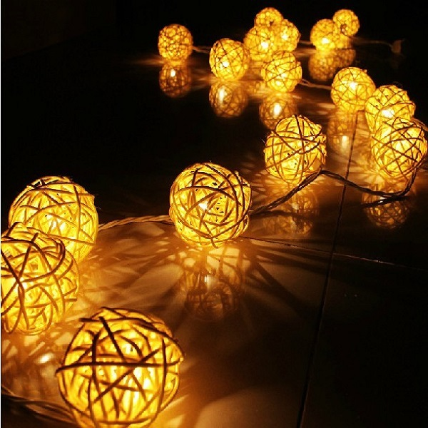 Color Changing Linkable Indoor Outdoor Led Christmas Light Ball ...