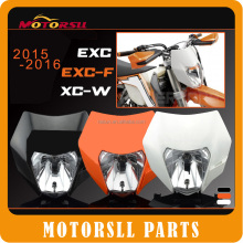 2016 Motorcycle Dirt Bike Motocross Supermoto Universal Headlight For KTM SX EXC XCF SXF SMR Headlamp