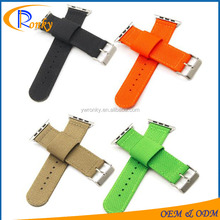 Pure color nylon strap nato watch 42mm band for watch