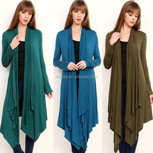 Long Sleeve Open Drape Cardigan Irregular Wrap Kimono Cardigans Casual Coverup Coat Tops Outwear Fancy Sweater Cardigan Women