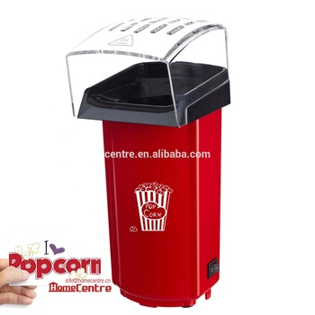 Mini Hot air popcorn maker, good price for promotion