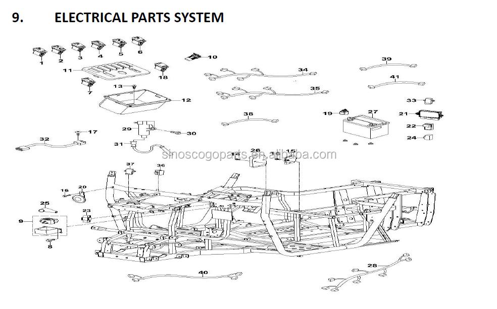 Rear Shock,Airbag Shock,Hs700utv,Hs500utv,Msu500-700,Msu  800,Hisun,Massimo,Supermach,Qlink - Buy Utv1000 Shock,Rear Shock  Absorber,Utv Shocks Product