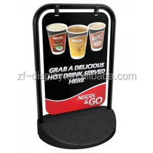 Advertising Metal A Frame/Sandwich Board/Swing Pavement Sign