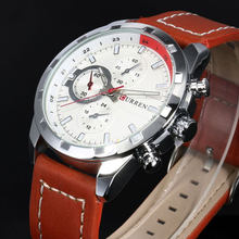 2016 Curren Кварцевые часы Для мужчин Часы лучший бренд класса люкс известный наручные часы мужской часы наручные часы световой часы Relogio Masculino(Китай)