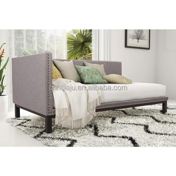 Linen Upholstered Daybed sofabed Chaise Lounge