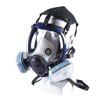 full face snorkel mask smoke protective mask gas mask