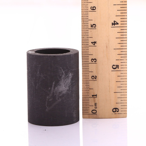 small leco graphite crucible for 10oz gold melting furnace