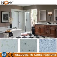 White solid surface vanity top, quartz ,home depot bathroom countertops
