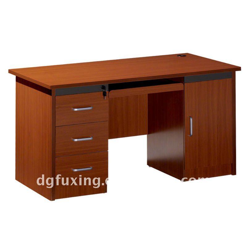Mesa de ordenador de madera modelos fho1403 mesas de - Modelos de escritorios de madera ...