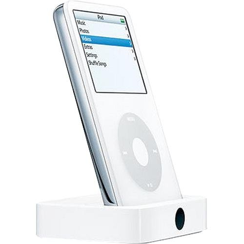 Apple Universal Dock for iPod (White) (Discontinued by Manufacturer)
