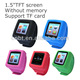 2014 new mini clip watch mp4 player with pedometer function