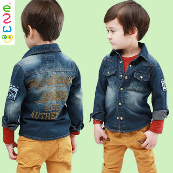Cheap Long Sleeve Boys Denim Clothes Kids Jeans Jacket - Buy Kids ...