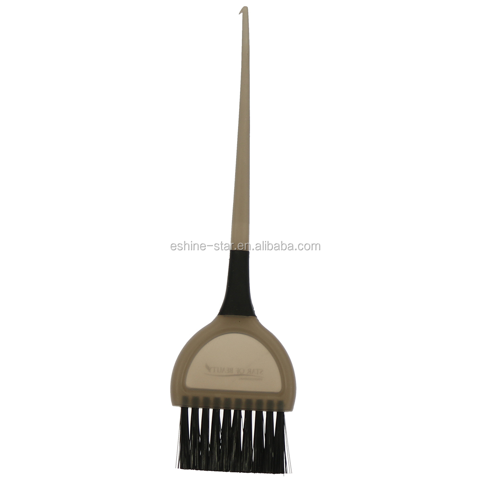 Customized product PP material hair color product nylon bristle dyeing hair brush