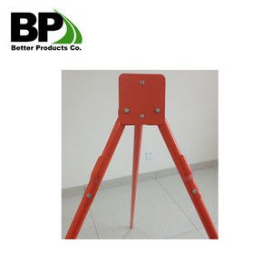 Construction Safety Warning Tripod Sign Stand