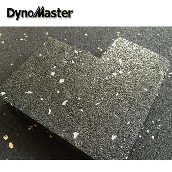 Gym Rubber Flooring /25mm Rubber Flooring Tile / Rubber Floor Tile