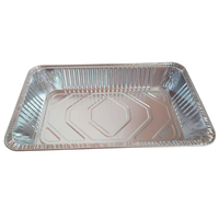 china suppliers turkey chicken roast aluminum foil serving tray disposable food container in good quality