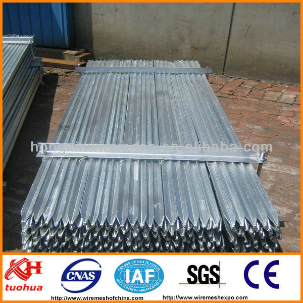 Factory--- Black Painting or Galvanized Star Picket / Y Post