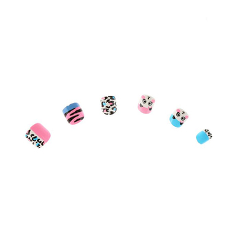 Hot selling animal design child false nails press on nails