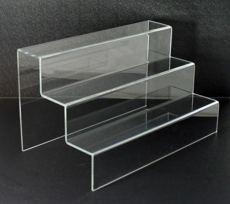 アクリル3段自立型ディスプレイラック 棚 ライザー スタンド ディスプレイラック 製品id 616266276