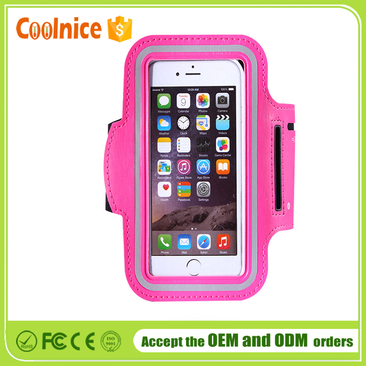 Sports Running Armband Case Mobile Phone Arm Belt Holder Pouch ...