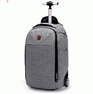 High quality usb charger laptop computer trolley rolling storage travel bag on wheels