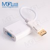OEM Mini displayport Thunderbolt DP to HDMI VGA TV AV Cable for computer dp male to vga female adapter for pc