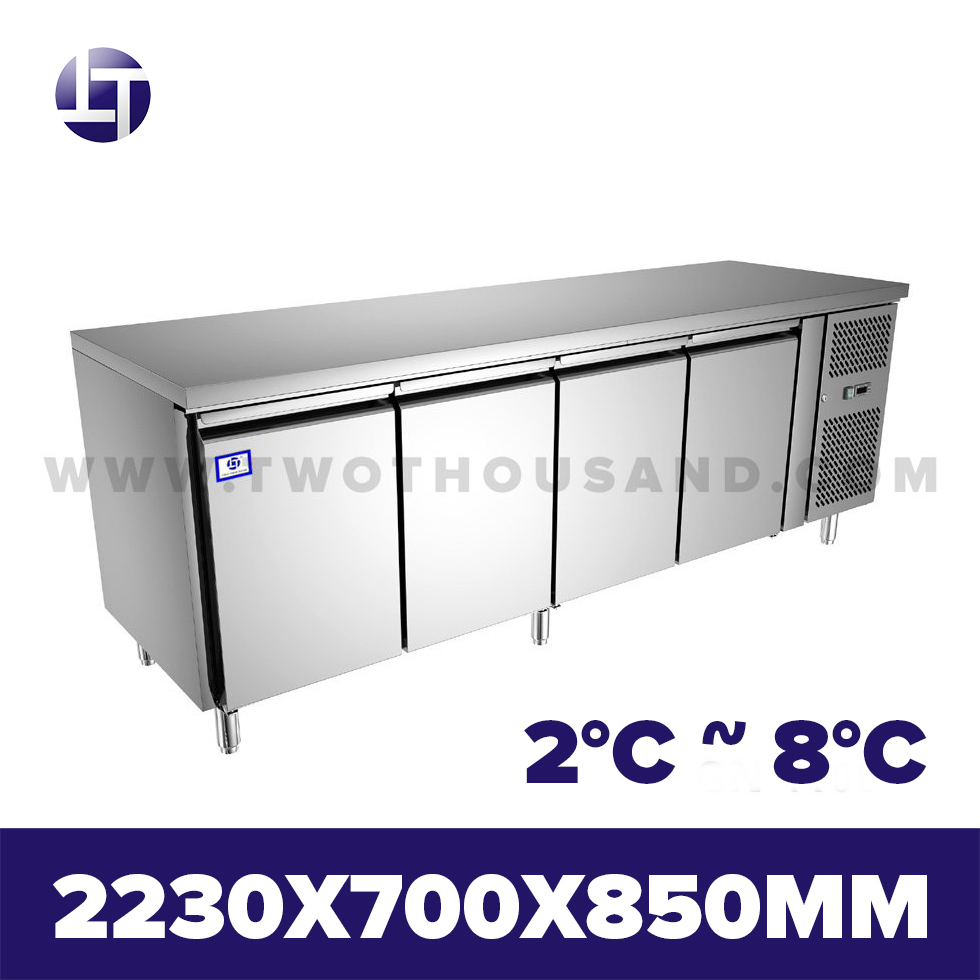 TT-BC282C-1 GN 1/1 Pan CE Commercial Under Counter Refrigerator Table