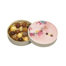 2017 new style round chocolate container
