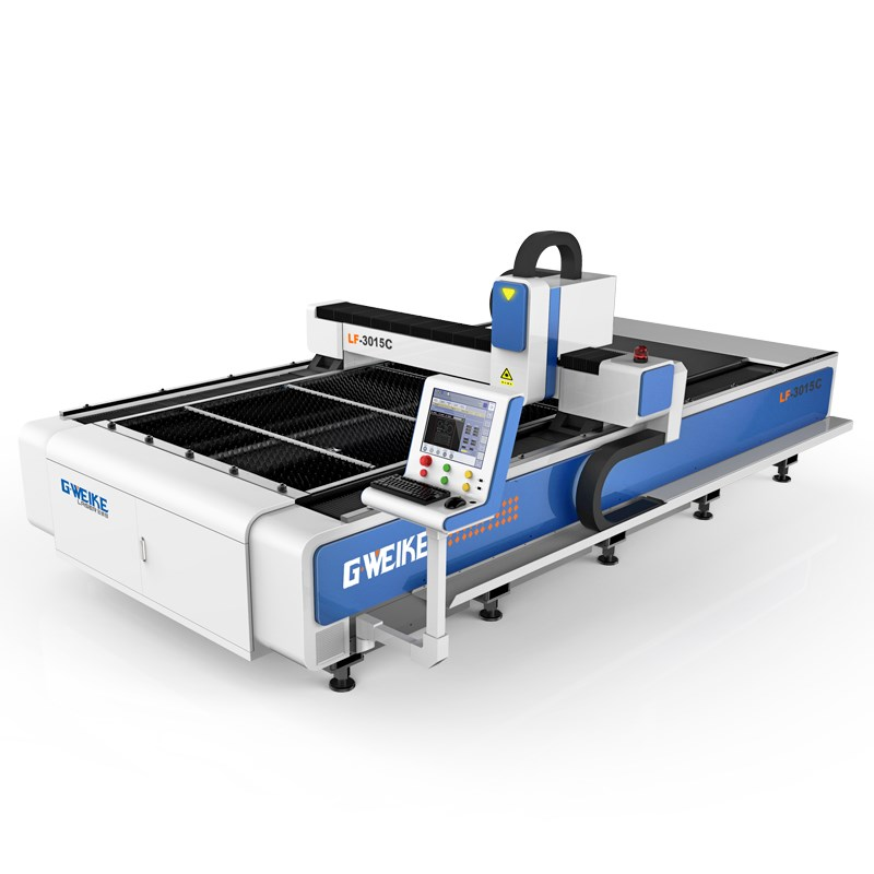 Supplier G.weike 1390 300w 500w 700w stainless steel fiber laser cutting machine price