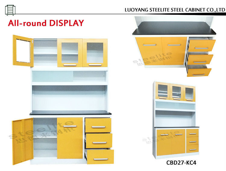 Factory Price Used Steel Free Standing Kitchen Storage Cabinets ...