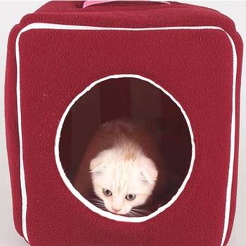 Warm Cottage Small Kennel Cat House For Pets