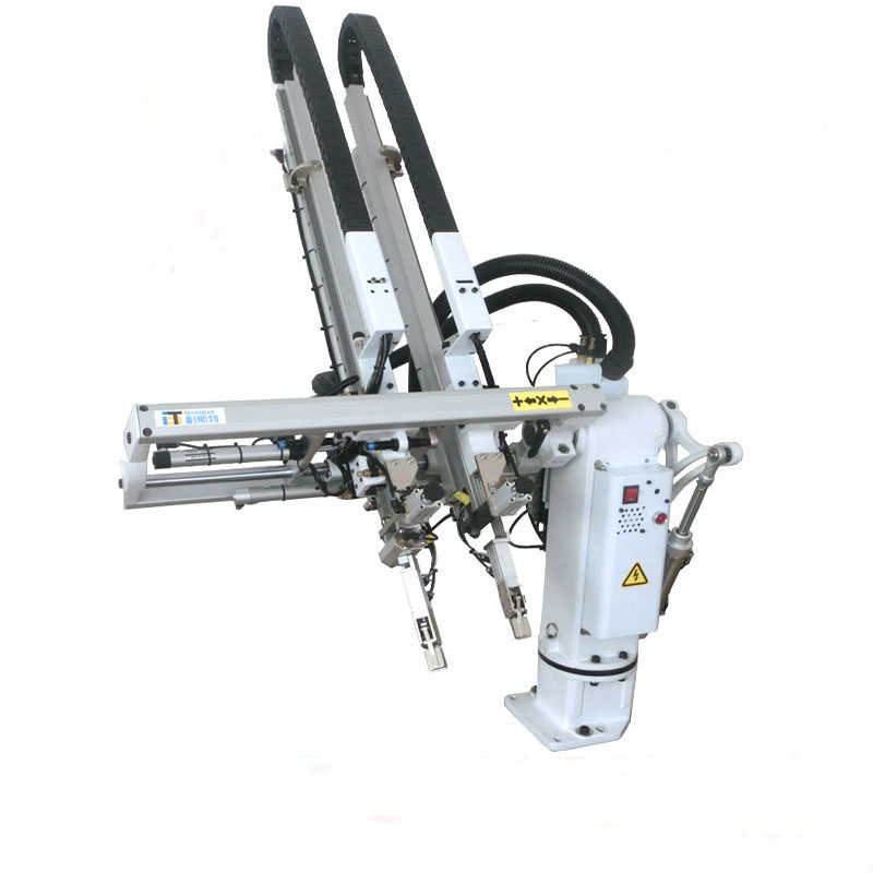 Low noise and high quality low price of industrial articulated robot arm with swing double arms