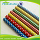 Chinese products Eucalyptus wooden pvc plastic garden stakes