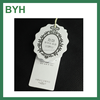 China paper garment hang tags with string hang tag for clothes folding hang tag
