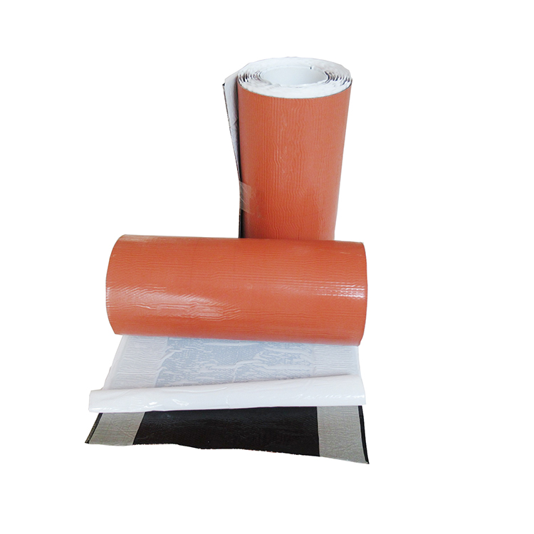 Aluminum Foil Tape for Roof Waterproofing Repair, 300 mm Width, 78 mil Thick, 10 m Length