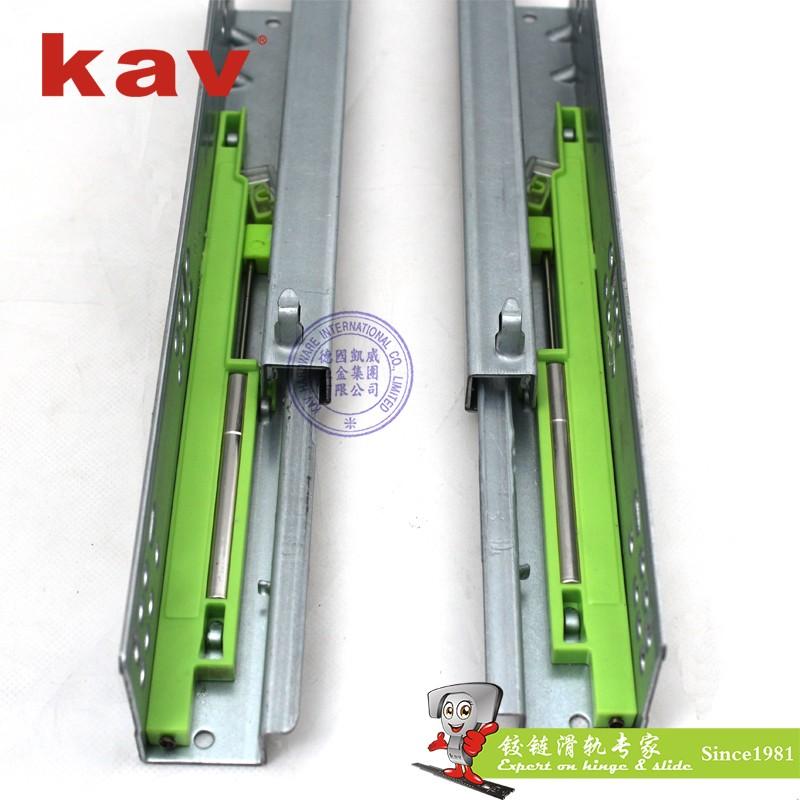 250mm-550mm Länge Schubladenführung Unterbau Absenkautomatik ...