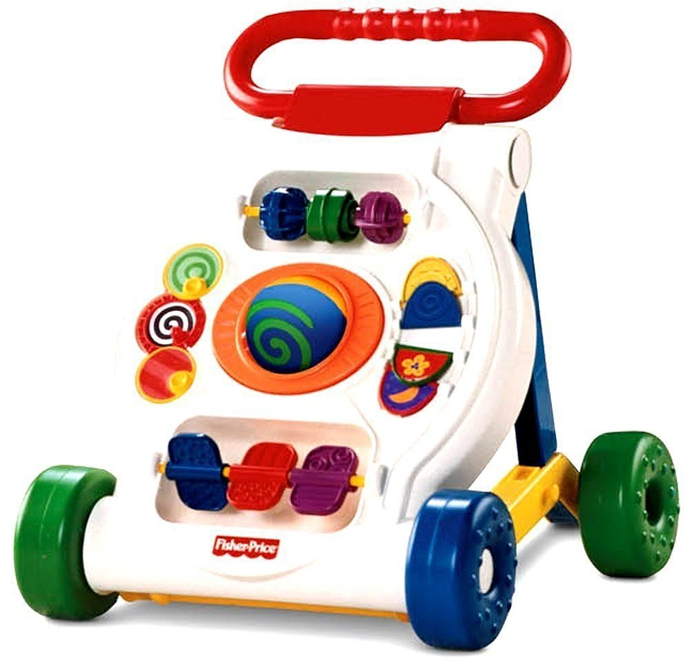 Fisher-Price Bright Beginnings Activity Walker - Push & Pull Toys