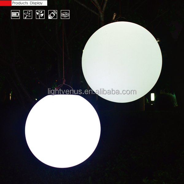 Led Street Garden Light With Color Changing Outdoor Led Ball Light ...