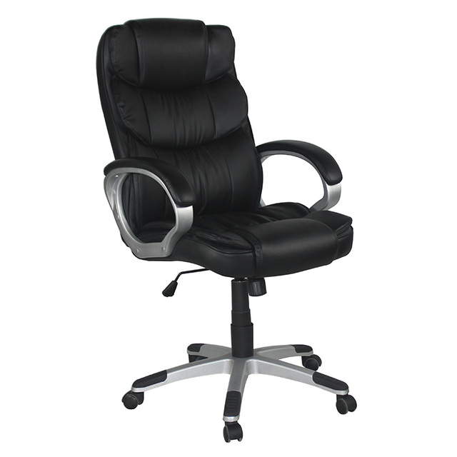 Anji Nylon Castors black sex secretary leather office chair royal executive  most popular chairs