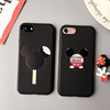 hard plastic back cover couple cartoon mouse phone case for iphone 6 6plus 7 7plus
