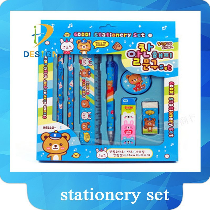 2015 new fashion <strong>school</strong> and children gift stationery set