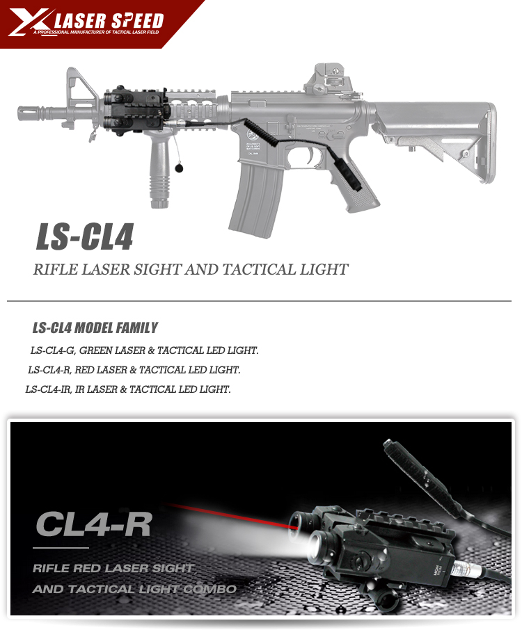Compact Ar 15 Parts Rifle Gun Red Laser Tactical Light Combo Buy
