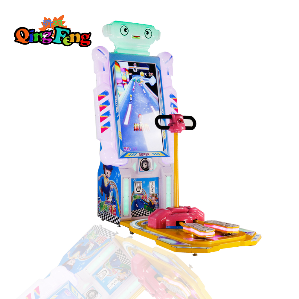 Qingfeng 2017 GTI new design Speed scooter game machine  indoor sport coin opera