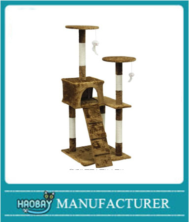 HaoBay Light Weight Economical Cat Tree Furniture with Ladder