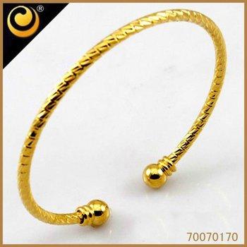 2012 18kgp bangle jewellery saudi gold jewelry new gold chain