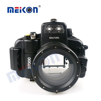2016 new underwater diving photography 18-55mm waterproof case underwater d7000 for Nikon