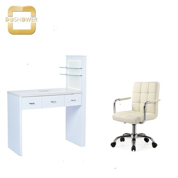 nail salon manicure chair with manicure bar table nail stations for double manicure table