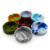 Custom Logo Printed Advertising Fluorescence Marble Round Silicone Pocket Cigarette Ashtray