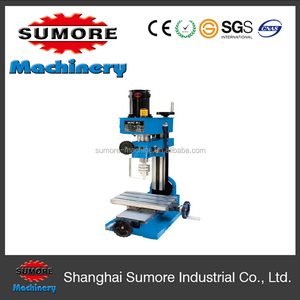 SP2202 mini milling machine for metal with 10mm drilling capacity