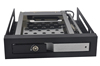 "unestech 2.5"" hdd case with custom aluminum hdd mobile rack hot-swap drive bay floppy drive"